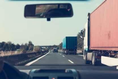 automotive cars expressway guardrail